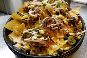 Pulled Pork Nachos - delivery menu