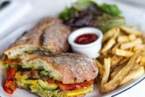 Mushroom Veggie Sandwich - delivery menu