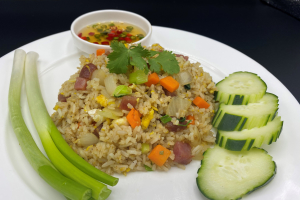 Fried rice with Chinese sausage - delivery menu