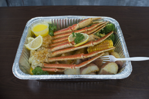 3. 1 lb. Snow Crab Platter - delivery menu