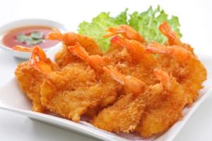 106.  (6) Pieces Fried Shrimp - delivery menu