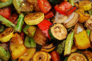 Grilled Mixed Vegetables - delivery menu