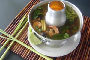 Lemongrass Soup - delivery menu