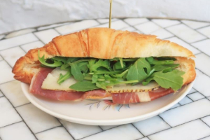 Ham and Cheese Croissant Sandwich - delivery menu