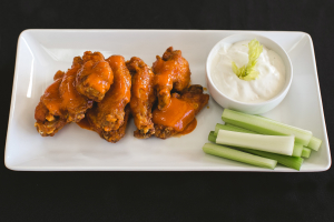 6 Pieces Buffalo Wings - delivery menu