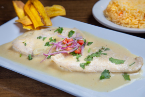 Pollo al Ajillo - delivery menu