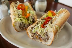 Cheesesteak Hoagie - delivery menu