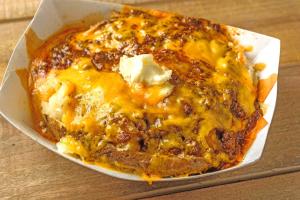 Chili and Cheese Potato - delivery menu