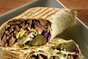 Lamb Shawarma WRAP - delivery menu