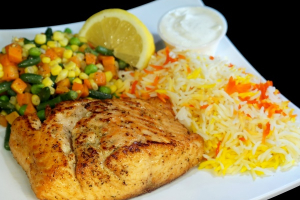 17. Salmon - delivery menu