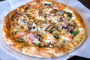 Spinach and Artichoke Pizza - delivery menu