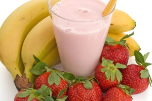 1. Strawberry and Banana Smoothie - delivery menu