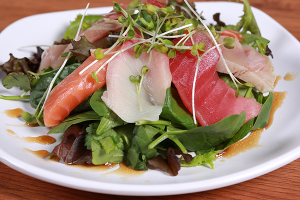 Sashimi Salad Mixed Fish - delivery menu