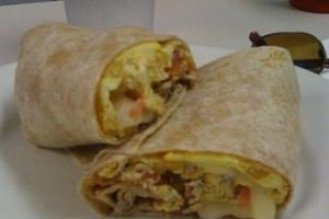 Breakfast Burrito - delivery menu