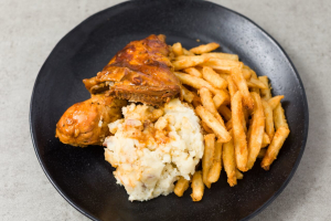 BBQ Chicken with 2 Sides - delivery menu