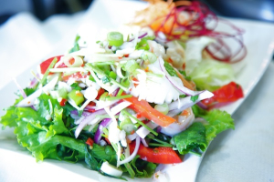 28. Pla Koong Salad - delivery menu