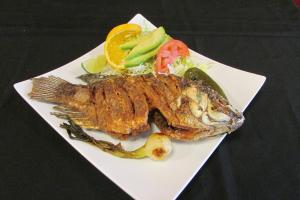 Mojarra Frita - delivery menu
