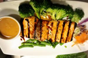 Salmon Satay - delivery menu