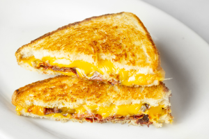 Grilled American Cheese and Bacon Sandwich - delivery menu