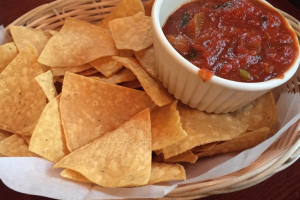 Fresh Pico De Gallo and Chips - delivery menu