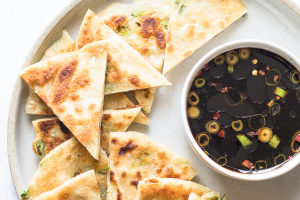 A4. Scallion Pancake - delivery menu