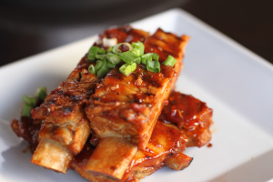 BBQ Ribs - delivery menu