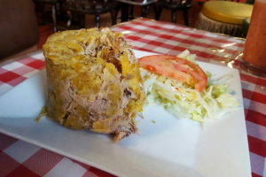 Pork Mofongo - delivery menu