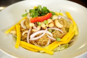 26. Yum Pla Dook Foo Salad - delivery menu