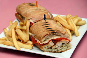 Grilled Lemon Chicken Panini - delivery menu