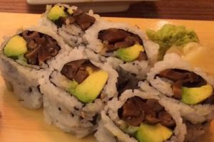 Shiitake Avocado Roll - delivery menu