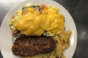 Huevos ranchero - delivery menu