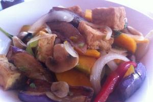 Pumpkin-Eggplant-Tofu - delivery menu