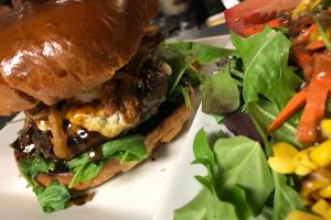 Bison Burger Dinner - delivery menu