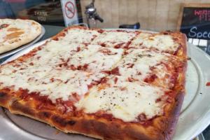 Sicilian Square Pie & 2 L soda - delivery menu
