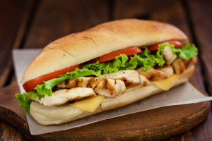 Grilled Chicken Sub - delivery menu