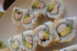 Shrimp Avocado Roll - delivery menu