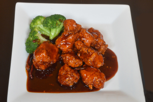 17. General Tso's Chicken Lunch - delivery menu