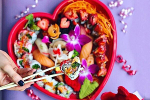 July 4th Combo Heart Platter - delivery menu