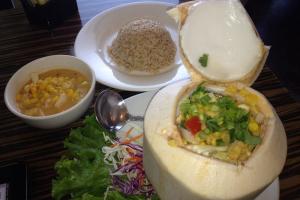 Thai Coconut Corn Soup - delivery menu