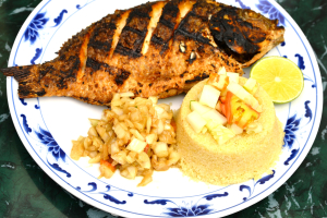 (After 6:30 pm Only) Grilled Fish - delivery menu