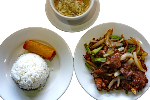 L18 Mongolian Beef Lunch Special - delivery menu