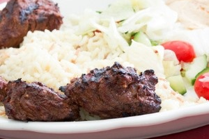 Lamb Kabob Dinner - delivery menu