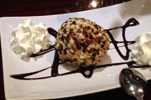 Amaretto Ice Cream Truffle - delivery menu