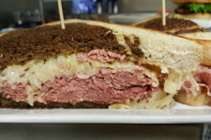 Reuben Sandwich Dinner - delivery menu