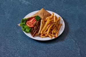 Lamb Gyro Sandwich - delivery menu