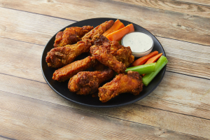 8 Jumbo Sized Award Winning Wings - delivery menu