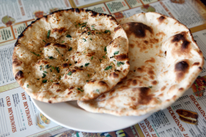 Cheese and Tomato Naan - delivery menu