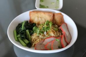 BBQ Pork Egg Noodle - delivery menu