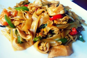 Spicy Noodles (Drunken Noodle) - delivery menu