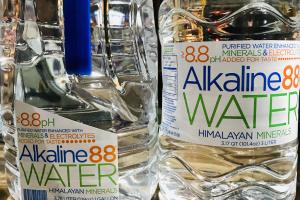Alkaline 88 water, Himalyan minerals - delivery menu